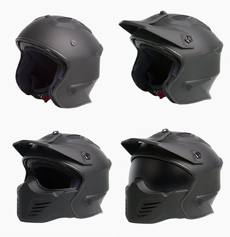 RXT Road Warrior Helmet - 1 Helmet 4 Options