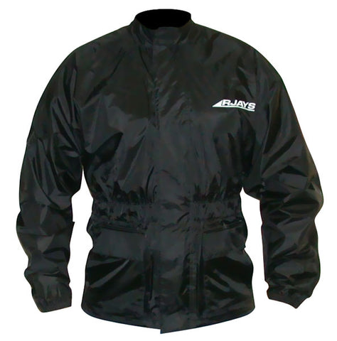 RJays Waterproof Rain Jacket - Black