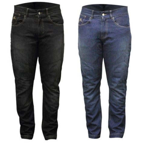 RJAYS MOTORCYCLE JEANS REINFORCED : ORIGINAL CUT OR STRETCH - MENS