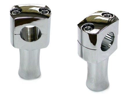 "Chrome Post Style 3"" Riser Set"