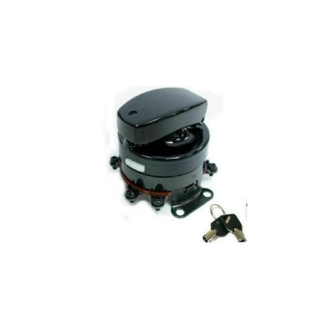 Electronic Ignition Switch - Black Fits: 1936-1995 models