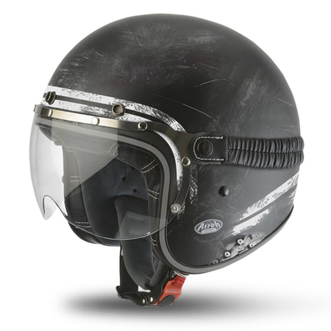 Airoh Garage Helmet - Raw Matte Black