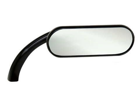 Arlen Ness - Mini Oval Mirrors Black (RHS)