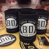 Bobber Daves Stubby Holder - BDCC Round Logo