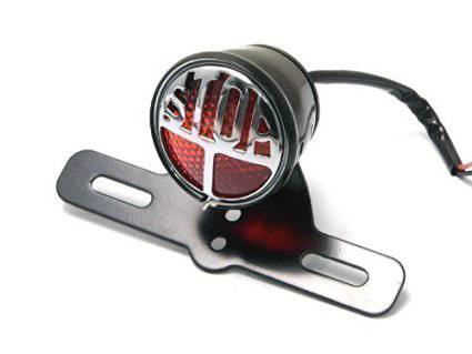 Covert Classic Stop Emblem Taillight - Black