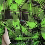 Dixxon Shirt - Mens Creature Flannel Shirt
