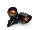 Classic Vintage Indicators - LED  Black