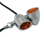 Classic Vintage Indicators - LED  Chrome
