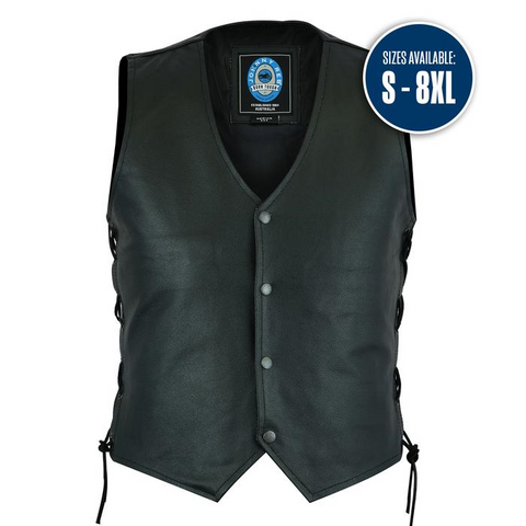 Johnny Reb Plenty Leather Vest