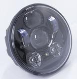 "Moto Lights Australia LED 5.75"" Headlight - 50W Chrome"