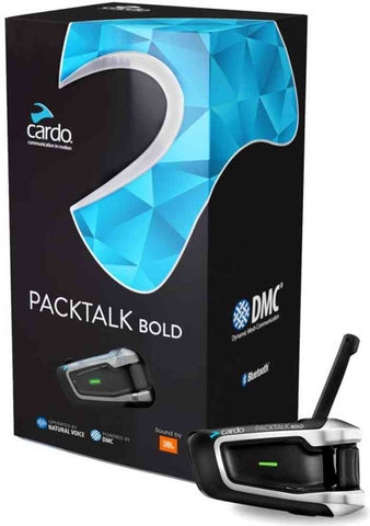 Cardo Scala Rider Packtalk Bold JBL - Single Unit