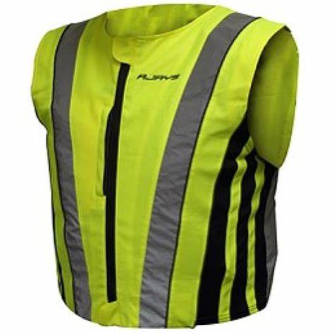 RJays Hi-Viz Premium Fitted Safety Vest