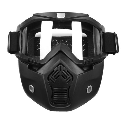 Scorpion Stealth Google Mask with removable muzzle