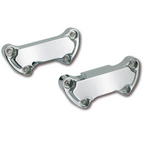 Scalloped Handlebar Top Clamp - CHROME