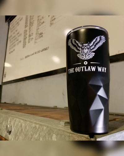 The Outlaw Way Stainless Steel Tumbler