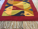 Woven Fish Textile from Sayulita, Mexico