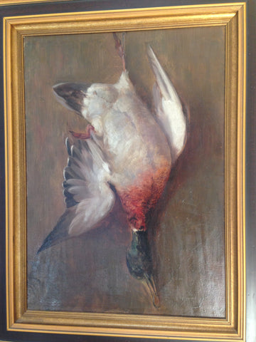 Hanging Mallard - Oil Painting