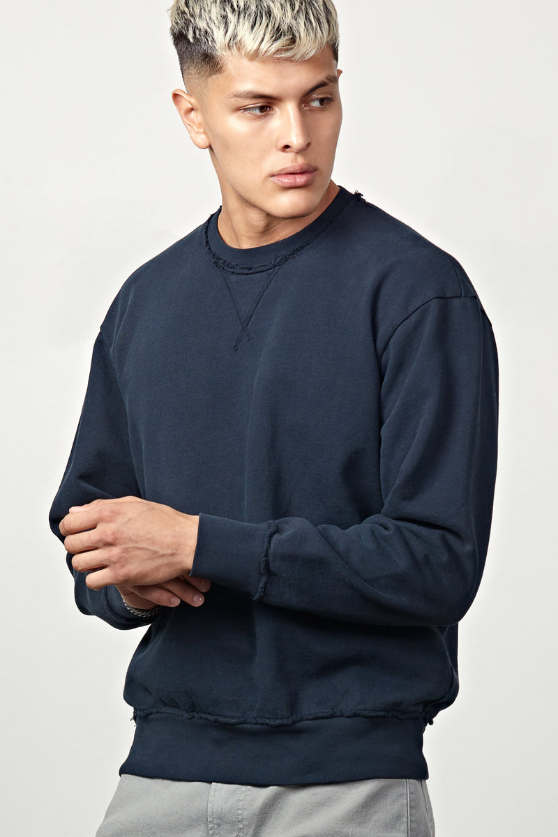 Westside Sweatshirt - Navy Blue