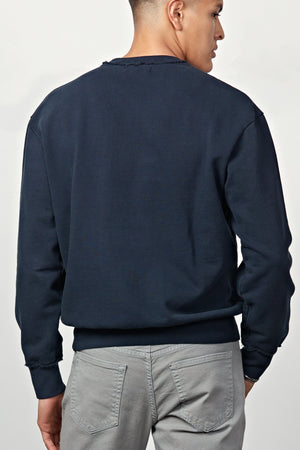 Mercy & Loyal Westside Sweatshirt - Navy Blue