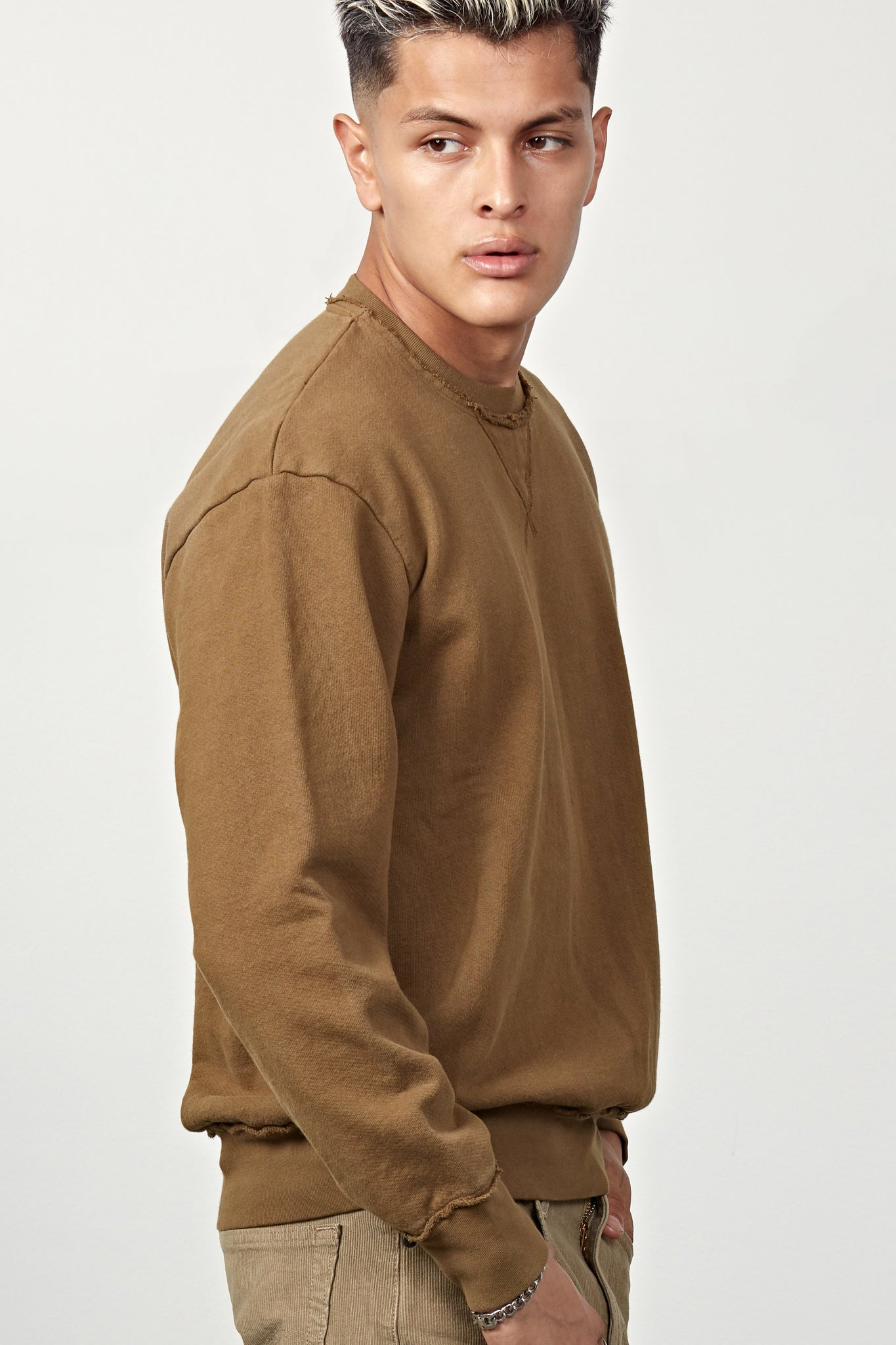 Mercy & Loyal Westside Sweatshirt - Olive
