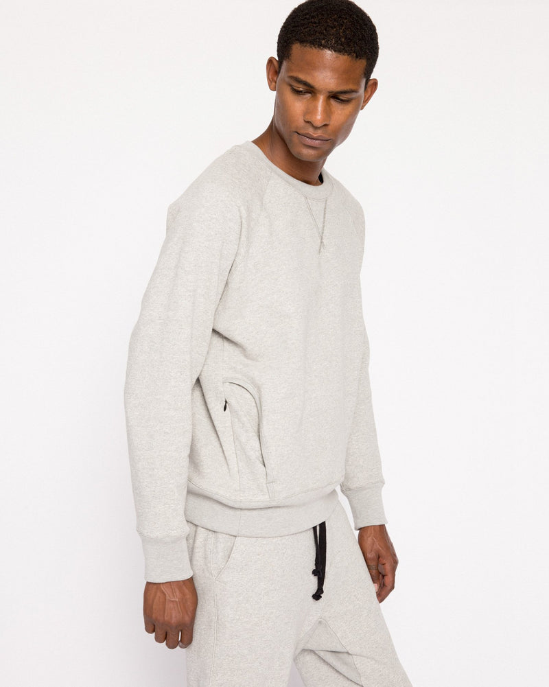 Classic Sweatshirt - Heather Grey