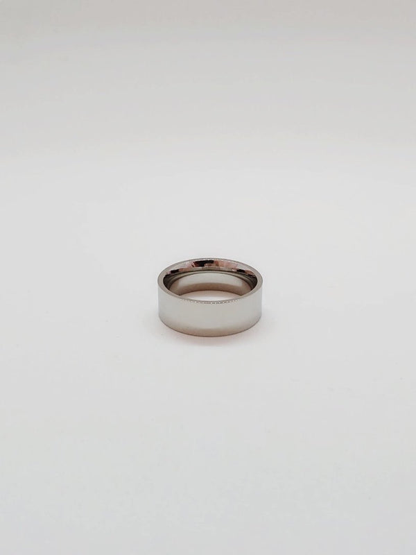 Silver Ring - 8mm