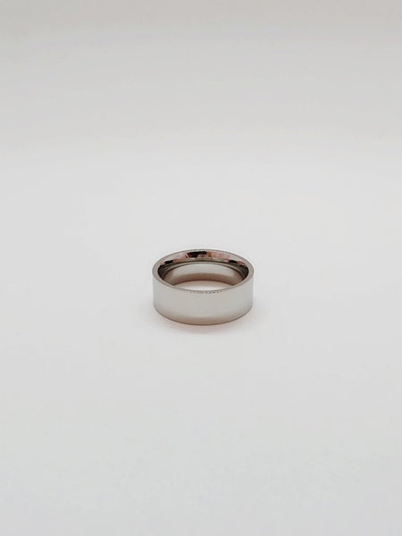 SUM Silver Ring - 8mm