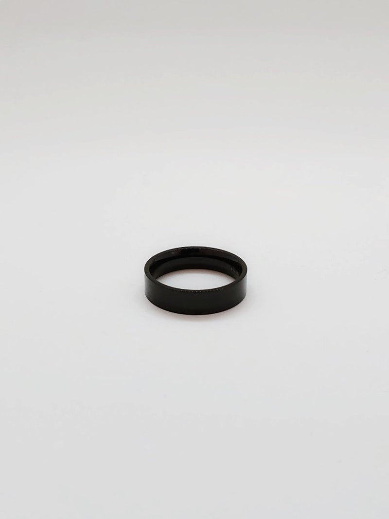 Black Ring - 6mm