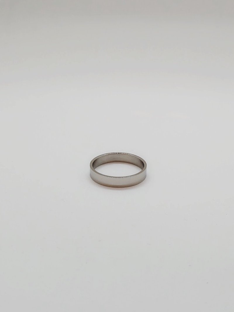 SUM Silver Ring - 3mm