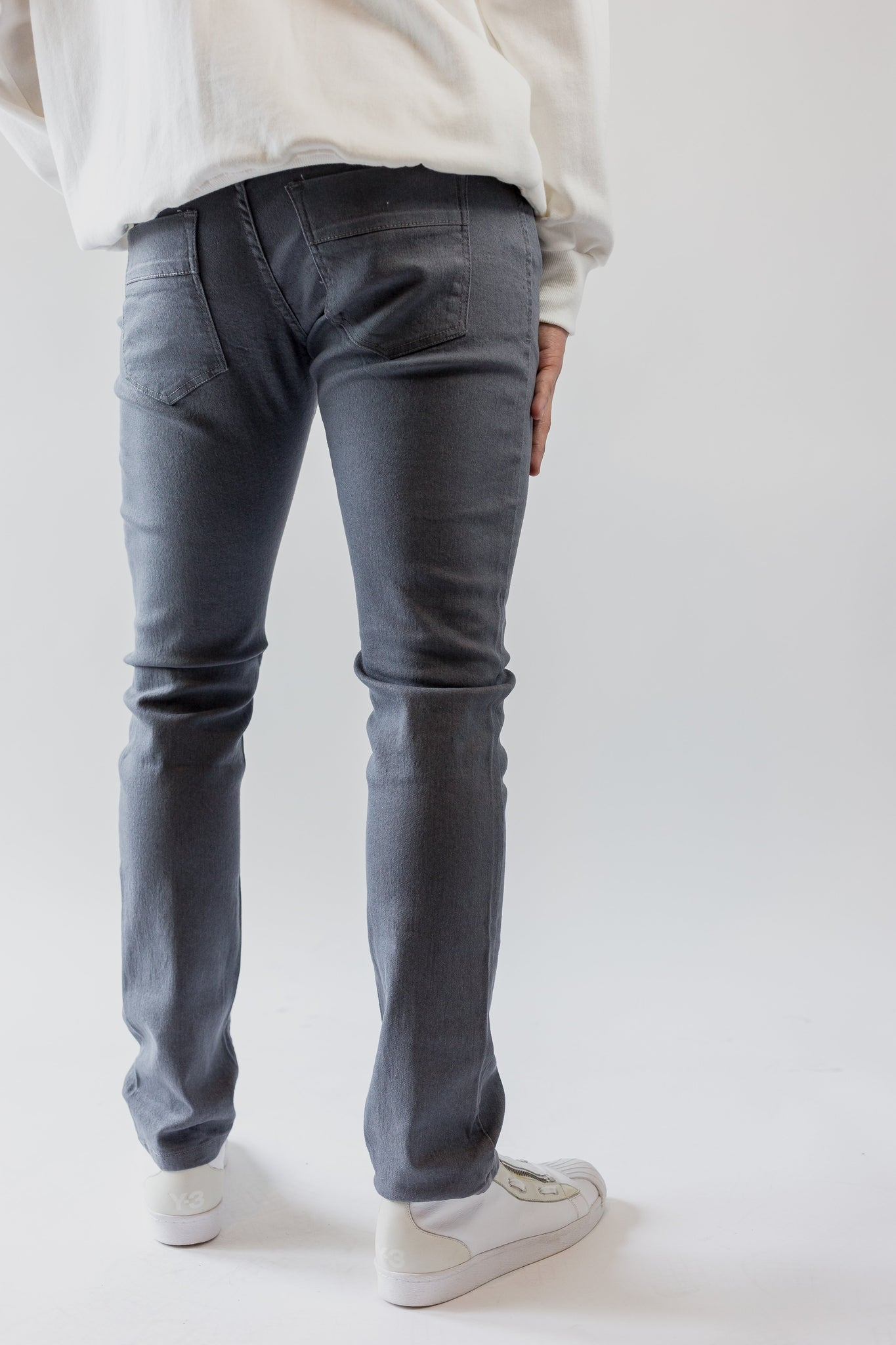Dylan Slim Fit Denim - Grey