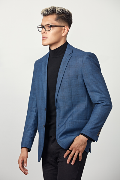 Braveman Suit Top Slim Fit - Check