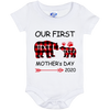 OUR FIRST MOTHER'S DAY Baby Onesie 6 Month