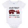 OUR FIRST MOTHER'S DAY Baby Onesie 12 Month