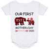 OUR FIRST MOTHER'S DAY Baby Onesie 24 Month