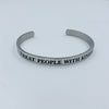 Treat People with Kindness Quote Bracelet