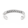 She Believed She Could So She Worked Her Ass Off and She Did. Inspirational Gift Bracelet