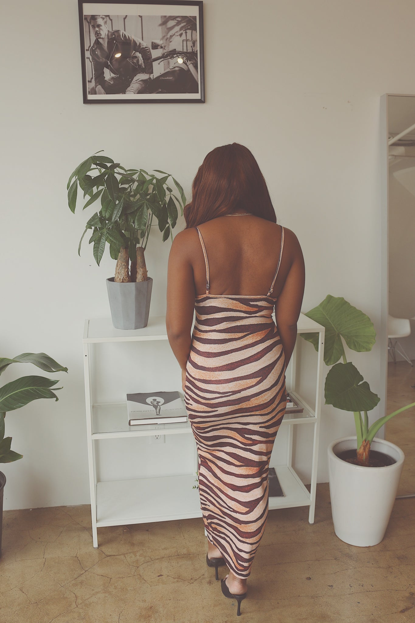 Tiger Long Dress