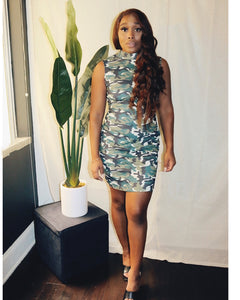 Army Fitted Dress