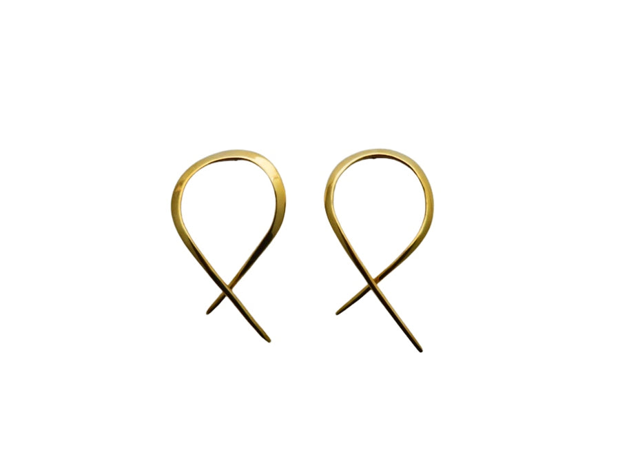 Corazon Hoop Earrings