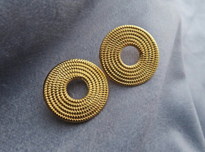 GOLD SOL EARRINGS