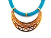 Light Blue Athena Necklace