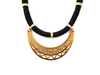 Black Athena Necklace Gold