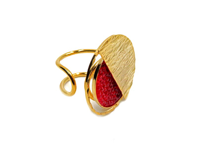 RED TRONA RING