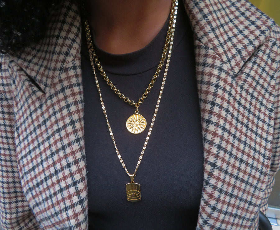 Gold Diane Chain Necklace
