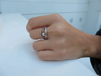 Silver Protection Ring