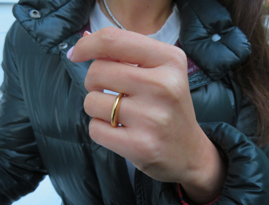Kleiner Gold Allure Ring