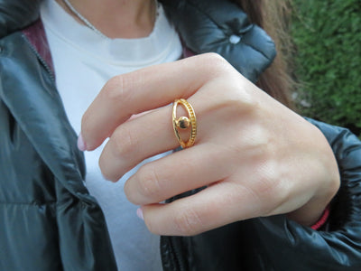 Gold Protection Ring