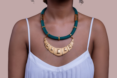 Green Athena Necklace