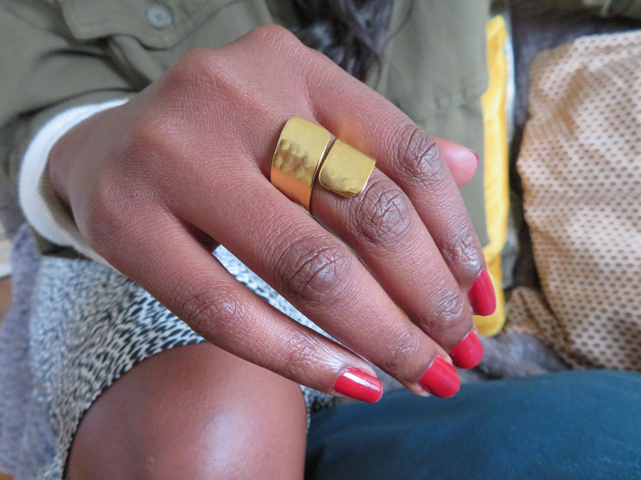 Gold Olympe Ring