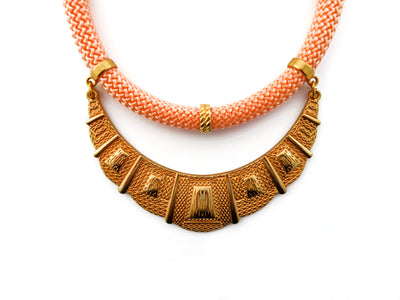 Peach Athena Necklace